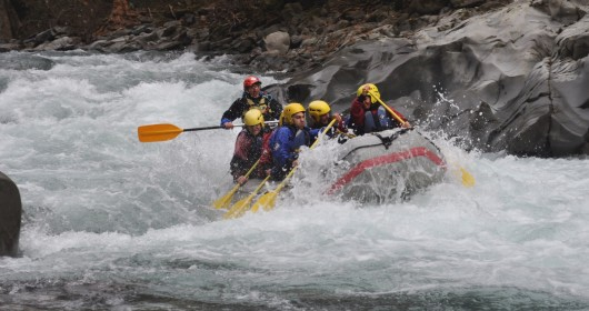 The lima torrent immersed in the magic wood - Rafting bagni di lucca ...