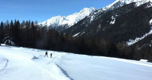 Anterselva track circuit - 3.0 km