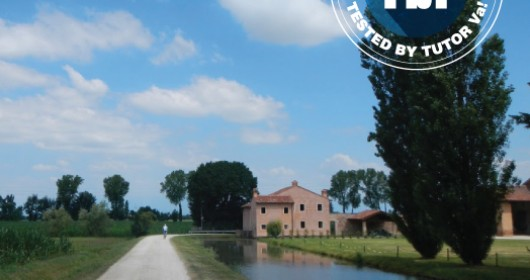 Cycling between rice-fields and the Palladio's villas