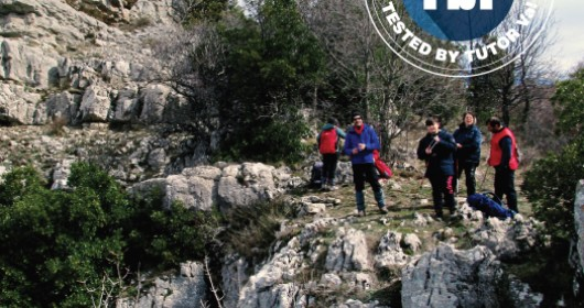 """The trail of the """"talking rocks"""" and Pietra Iaccata"""