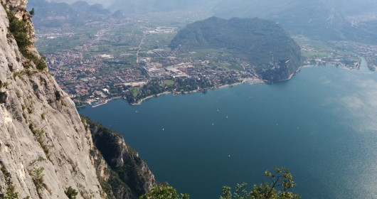 Via Ferrata on Cima Capi, at Lake Garda