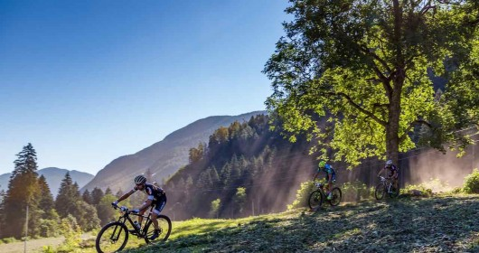 Mountain Bike in the Sole Valley