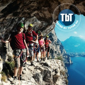 The Ledge of the Smugglers: ferrata on Lake Garda