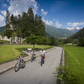 The Val di Sole cycle path