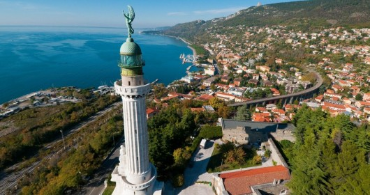 Cycling around the city: Trieste, border pearl!