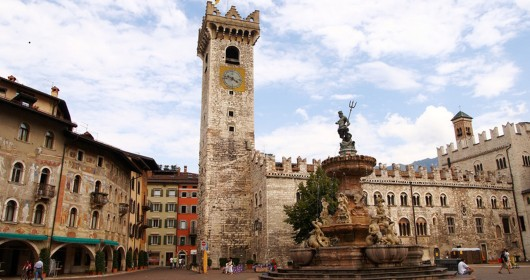 Cycling around the city: Trento, an elegant city surrounded by the mountains
