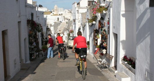 On two wheels in the heart of the Mediterranean