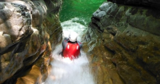 Canyoning on the Palvico creek