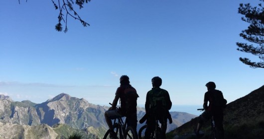 Unusual Tuscany: a MTB tour of the Lucido Valley