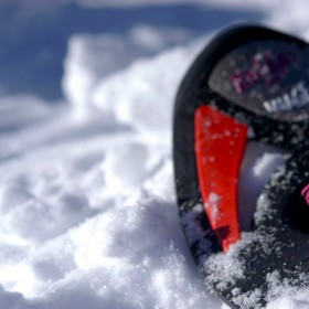 A snowshoe walk in the Roncegno's mountains