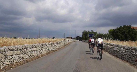 Cycling from Scopello to Segesta