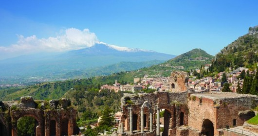 Etna, Taormina and the Alcantara's gorges