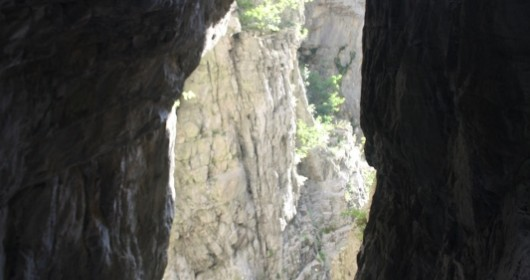 Canyoning in the Garavina's gorges
