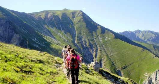 The Sibillini Great Route - A MULTI-STAGE JOURNEY