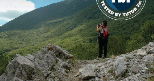 Along the transhumance way in the Pollino National Park