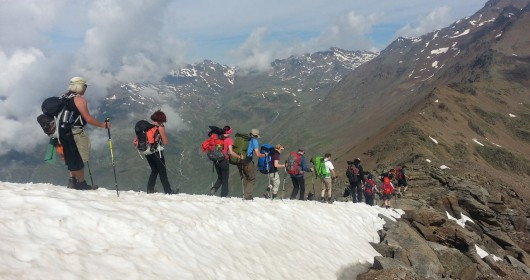 Hiking in the Stelvio National Park - Stage #2