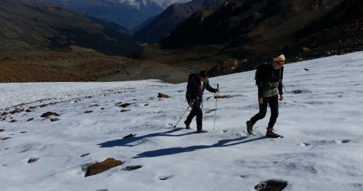 Hiking in the Stelvio National Park - Stage #4