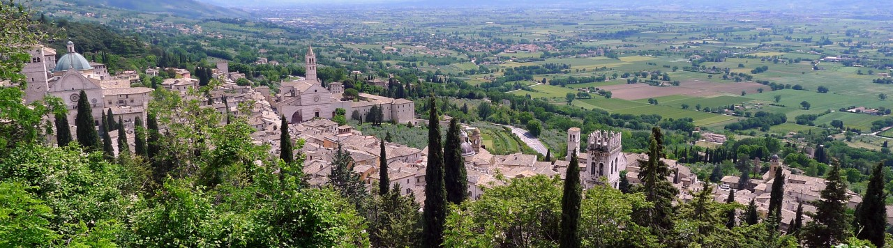 Spoleto-Assisi Cycle path: biking in the heart of Umbria